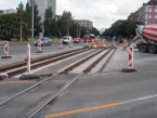 Rekonštrukcie električkovej trate Krížna ulica